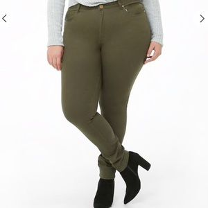 ❗️24 HOUR SALE❗️ Forever 21 Olive Green Jeans